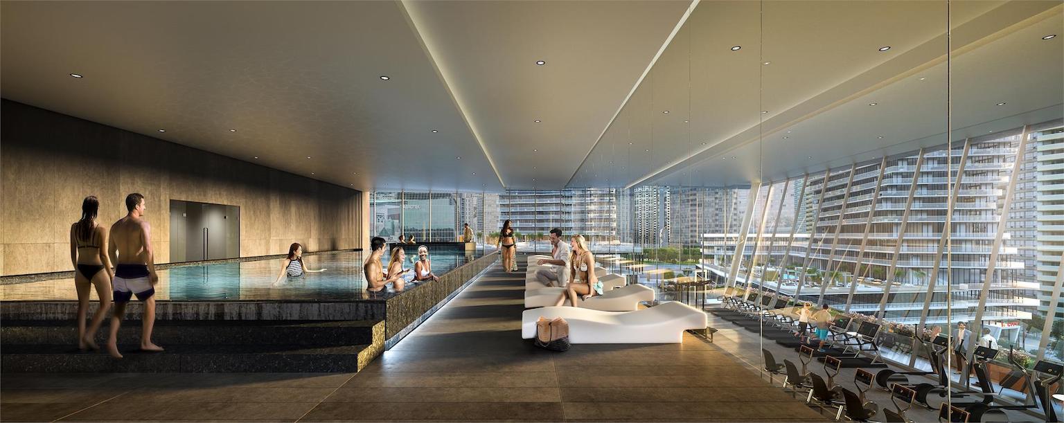 M City Condos 3 swimming pool