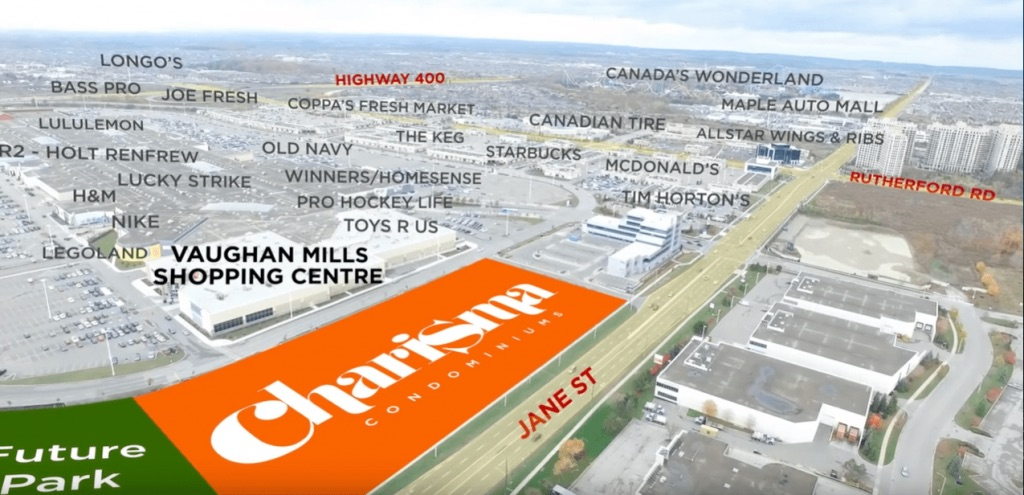 Charisma 2 On the Park Area Map