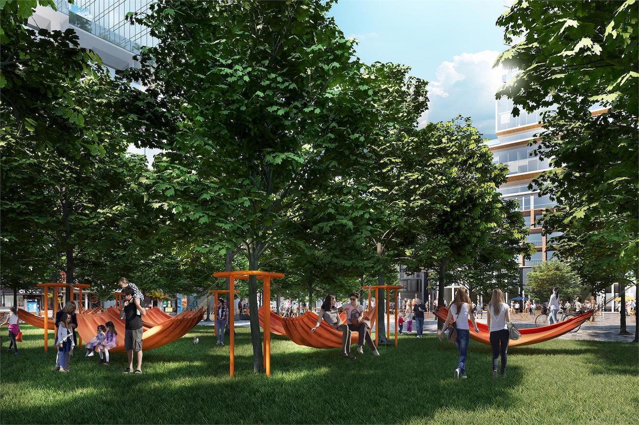 Bloor & Dufferin Condos Community Park Rendering