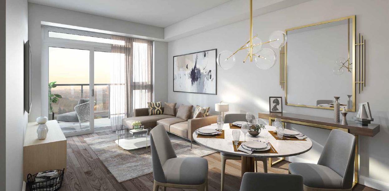 Keystone Condos Suite Living Area