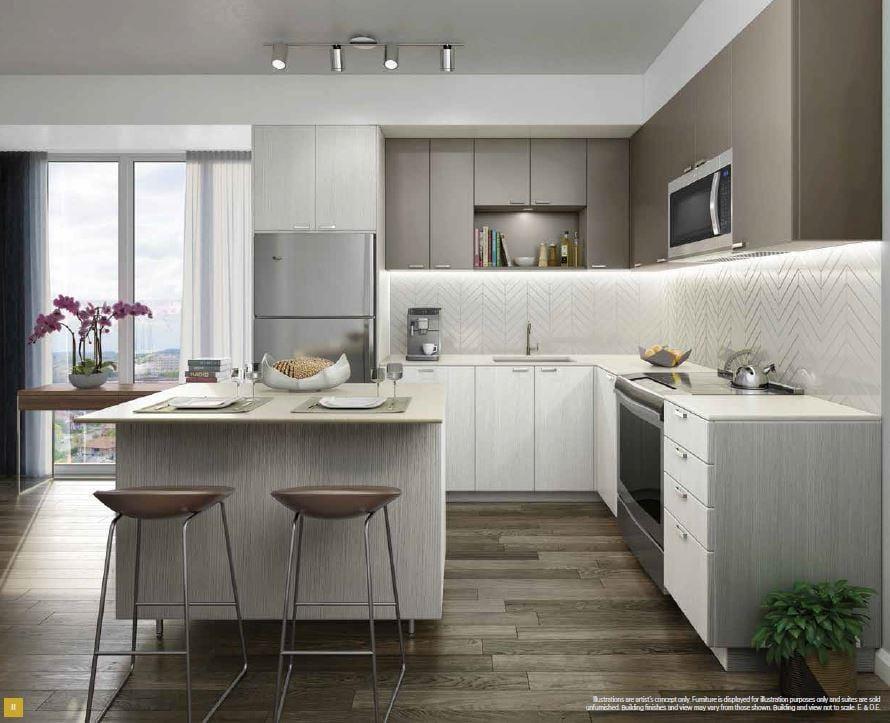 Keystone Condos Suite Kitchen