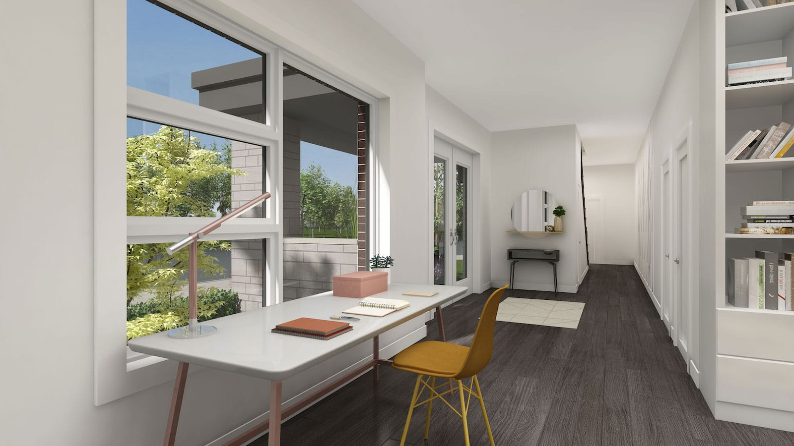 NuTowns Interior Rendering of Office Space