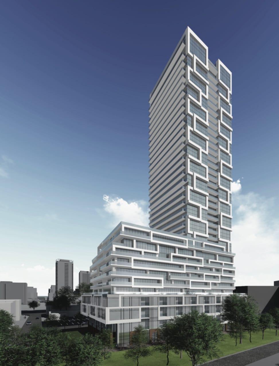 River & Fifth Condos Building Exterior
