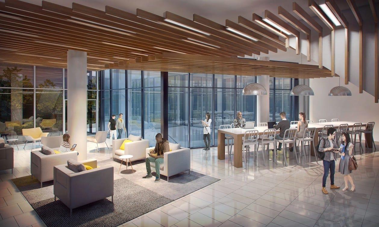 University Suites Condos Building Lobby