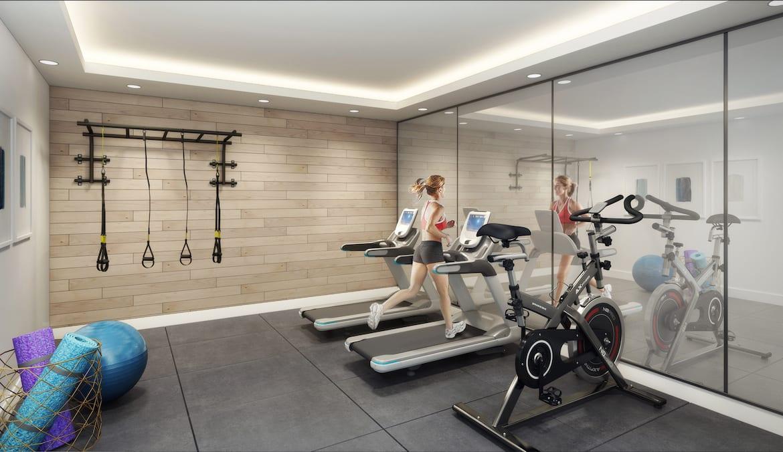 430 ESSA Condos Fitness Centre