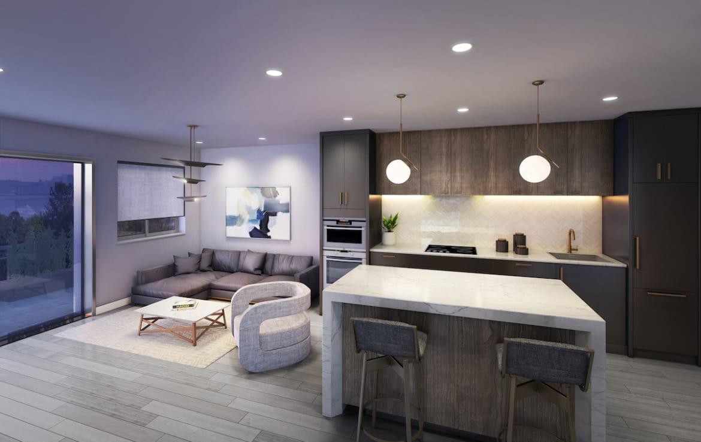 430 ESSA Condos Suite Interior