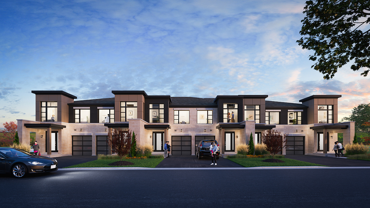 Rendering of Horizons Modern Towns Block 7 Front Full