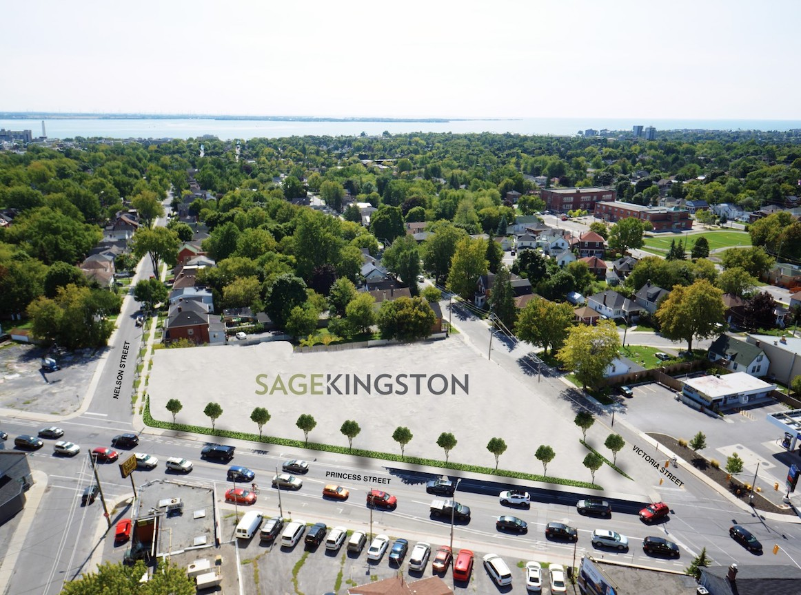 Sage Kingston Building Aerial