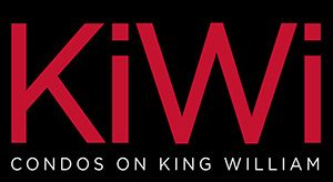 Logo of KiWi Condos on King William