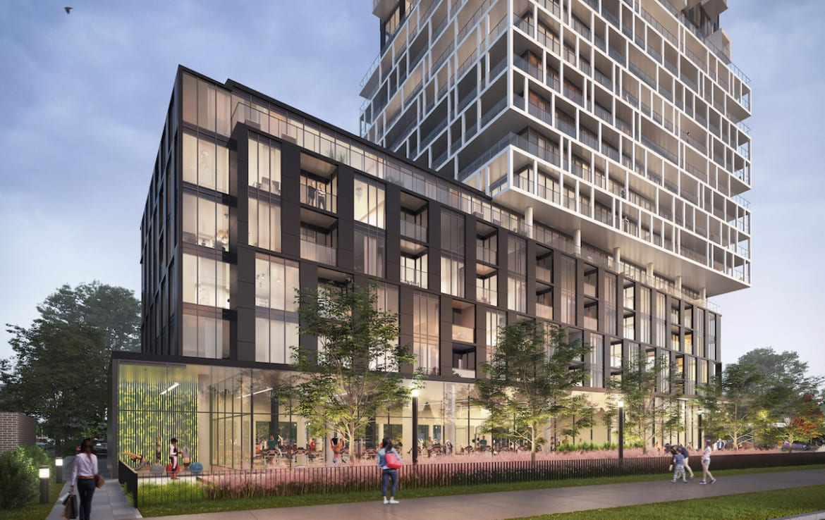 Exterior Rendering of Margo Condos
