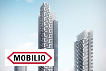 Exterior Rendering of Mobilio Condos