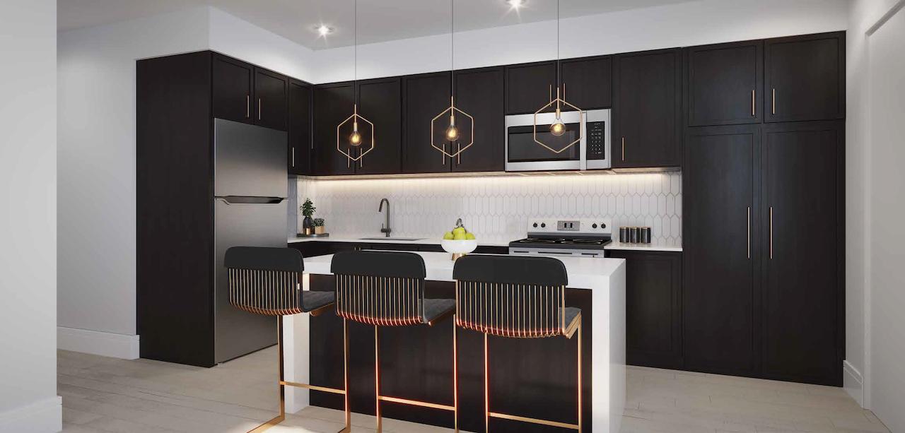 Rendering of Maxx Urban Towns kitchen