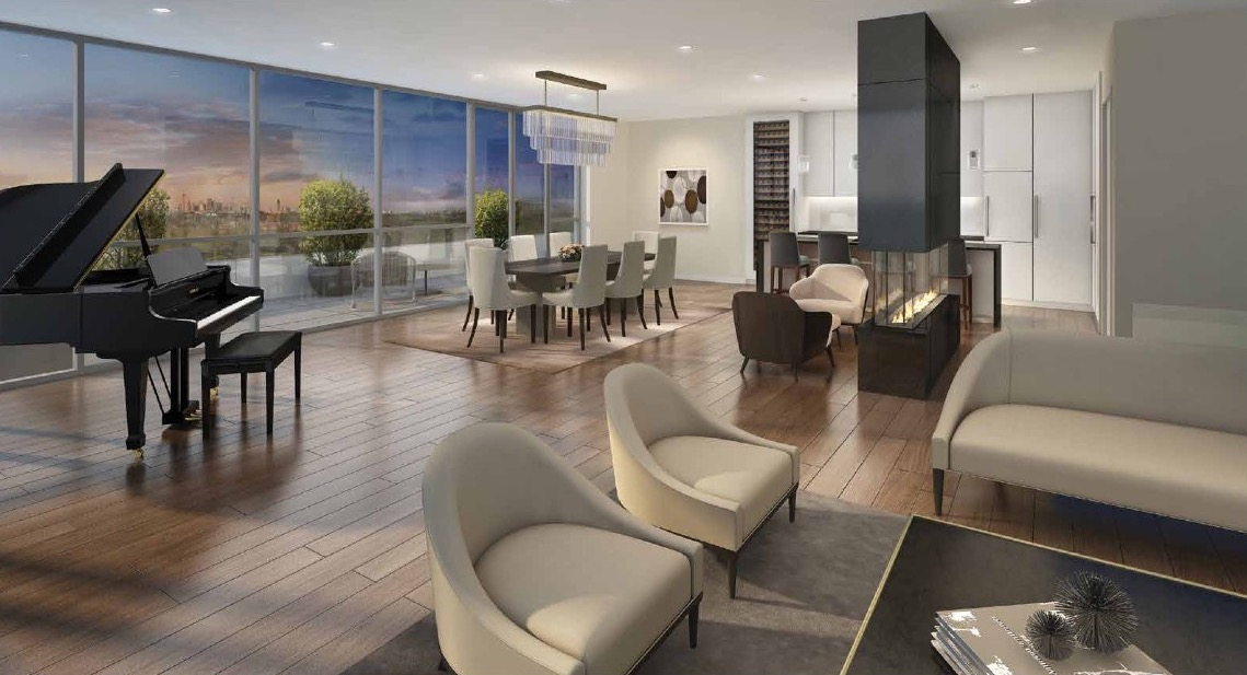 Spacious Suite Rendering of Terrasse Condos at the Hunt Club