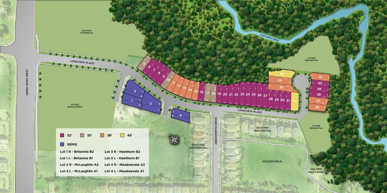 Longview Ravine Estates Site Plan