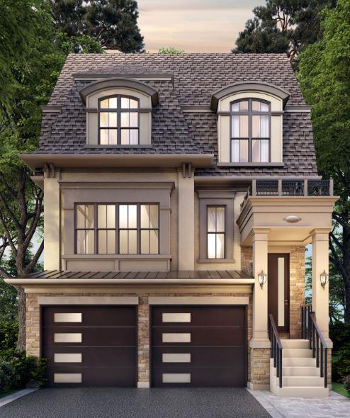 Rendering of a Longview Ravine Estates Detached Home