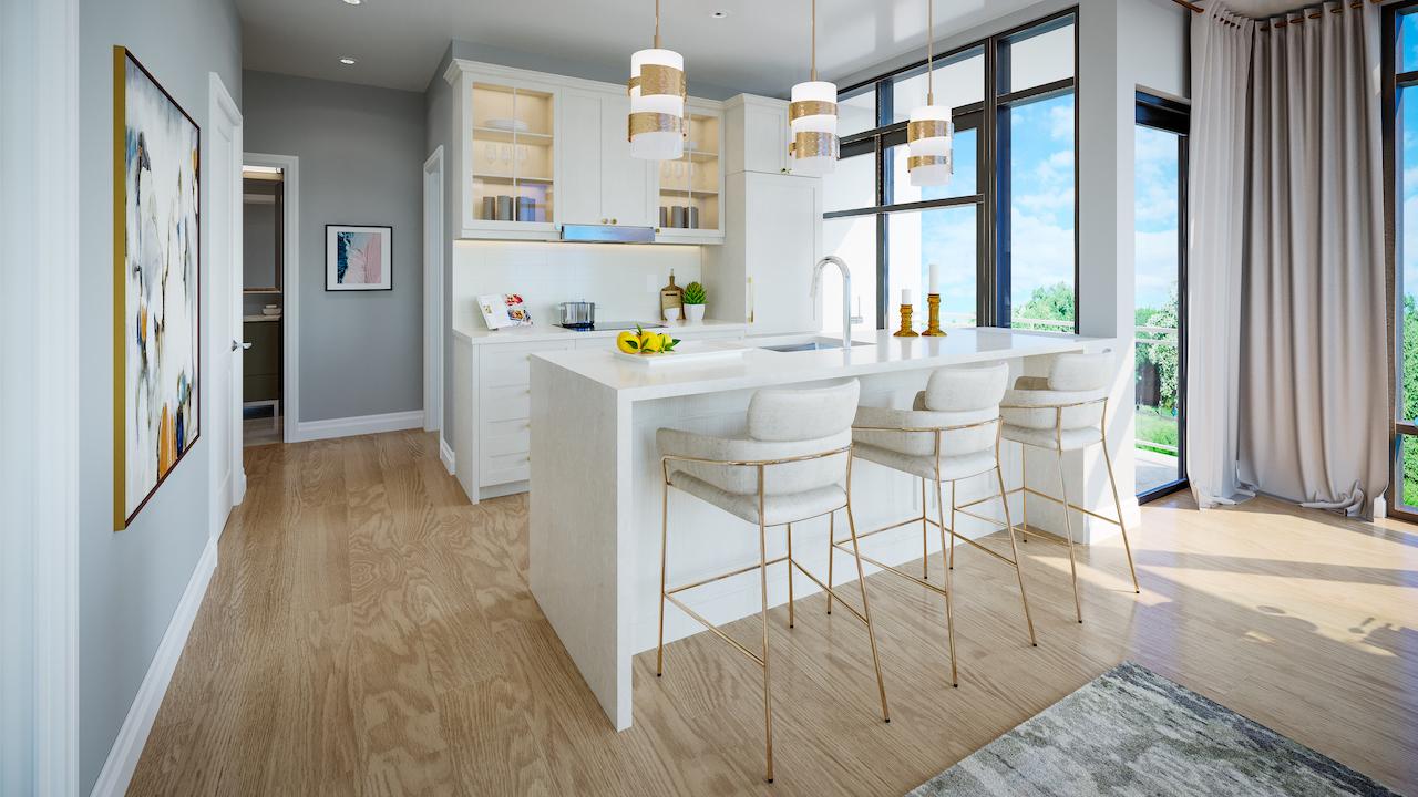 ORO Condos Suite Kitchen