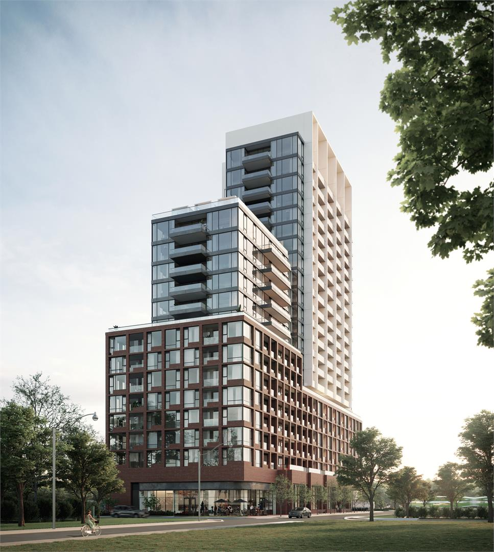 Rendering of Westport Condos in Port Credit, Mississauga.