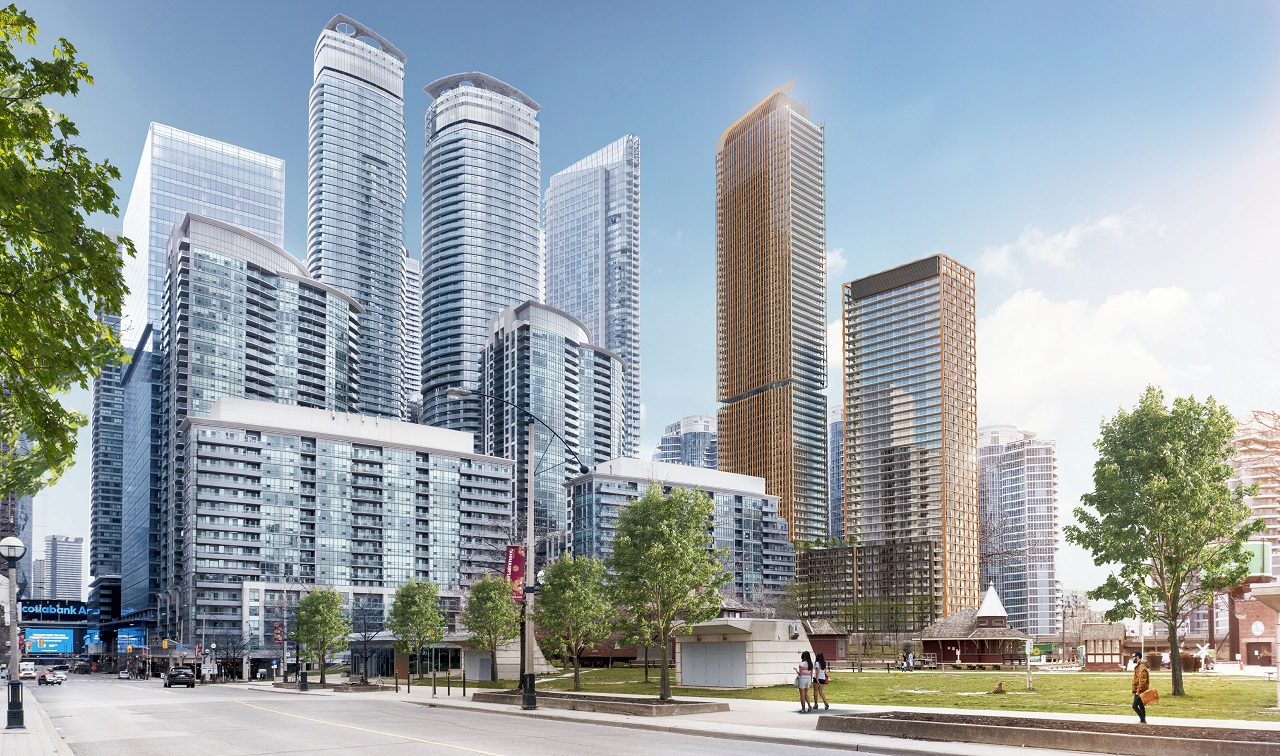 Rendering of 200 Queens Quay West Condos in Toronto
