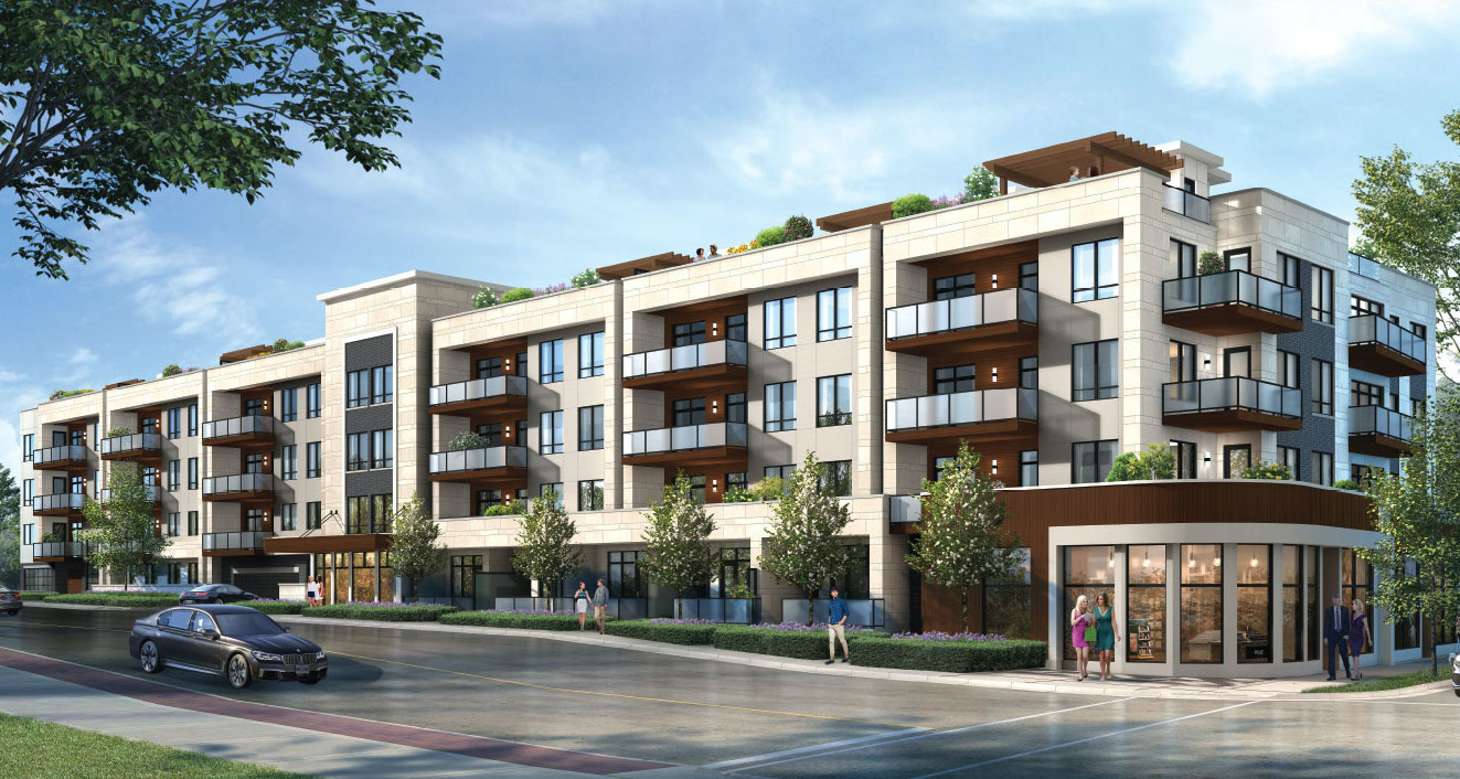 Rendering of The Berkshire Residences in Oakville