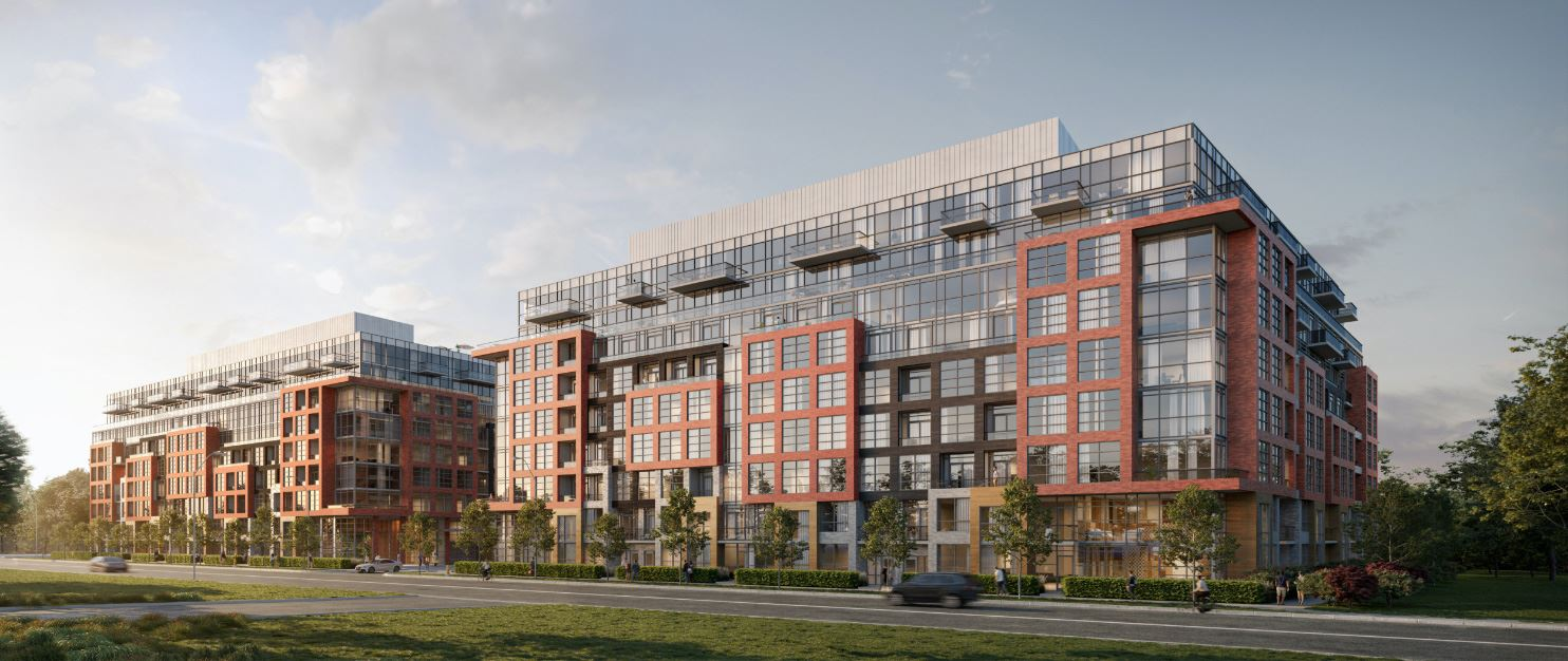 Rendering of Highland Commons Residences by the Creek