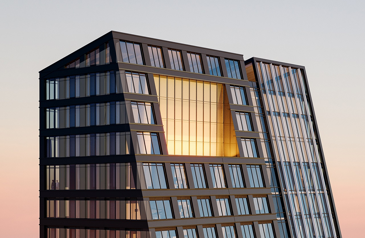 8 Wellesley Residences Exterior top closeup