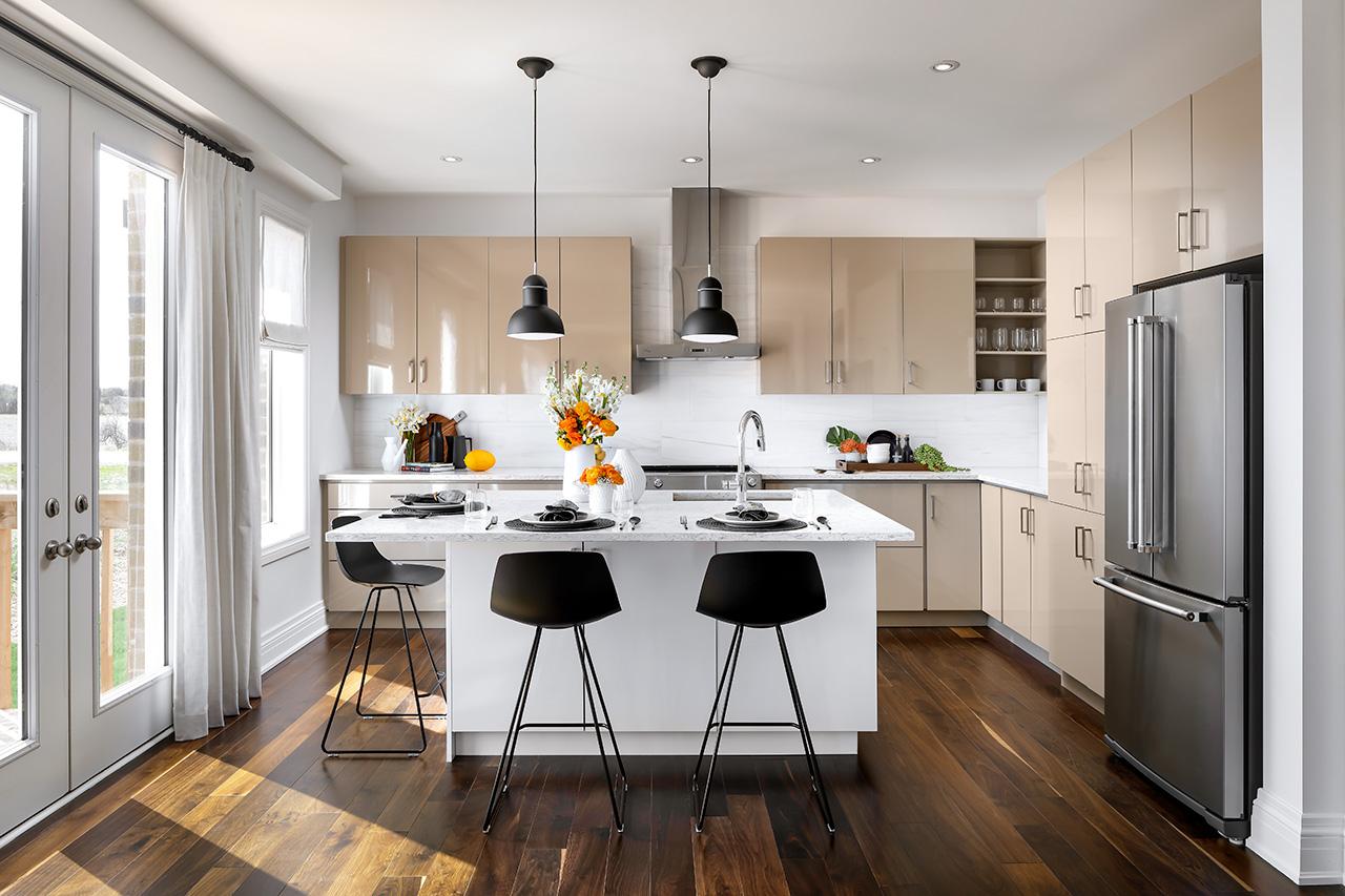 Rendering of Simcoe Landing interior kitchen