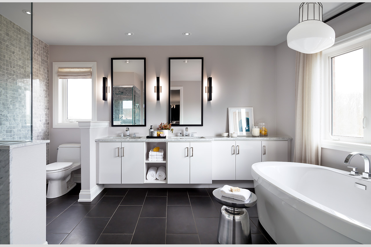 Rendering of Simcoe Landing interior bathroom