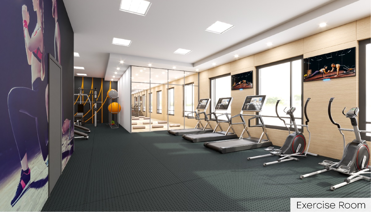 Rendering of Nahid Kennedy Condos exercise room