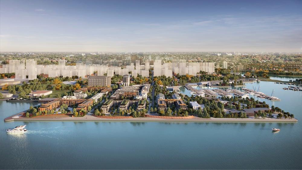 Rendering of 1 Jarvis Condos Hamilton's waterfront redevelopment