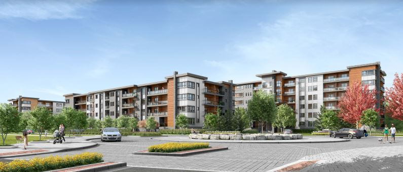 Rendering of One Twenty Condos exterior during the day