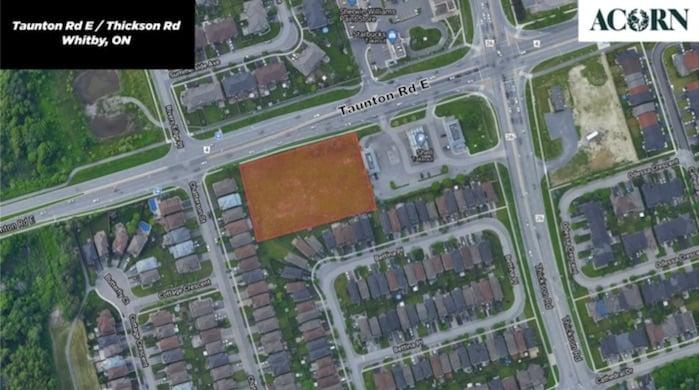 Bridgebury Towns by Acorn Developments in Whitby, Ontario