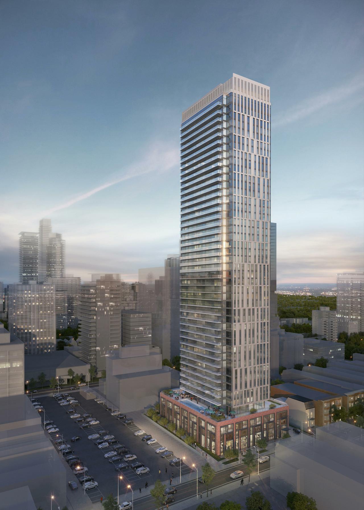 20 Maitland Street Condos in Toronto by Plaza