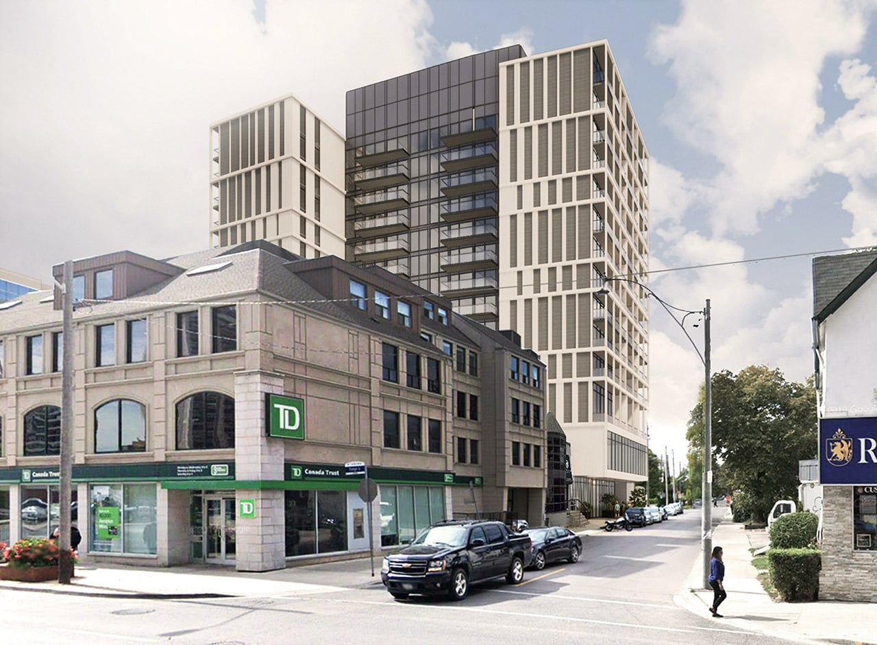 Rendering of 25 Imperial Condos near TD Bank of Canada