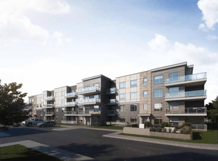 Rendering of Park South Condos building 2