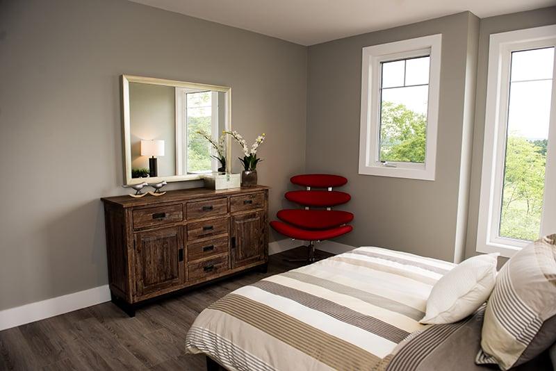 Treetops Condos bedroom with plenty of space
