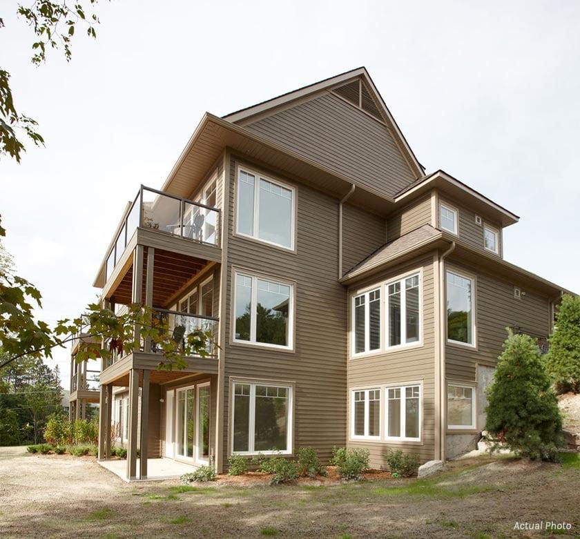 Treetops Condos exterior side view