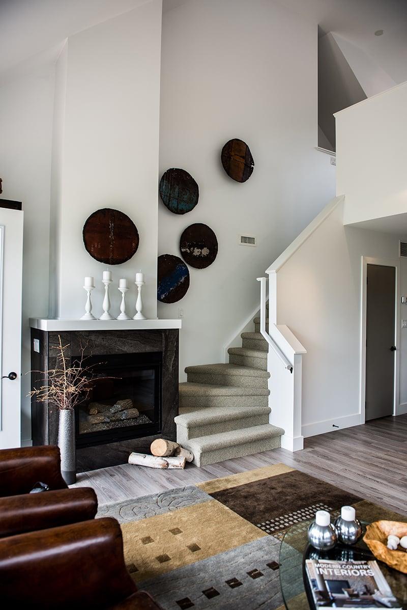 Treetops Condos staircase