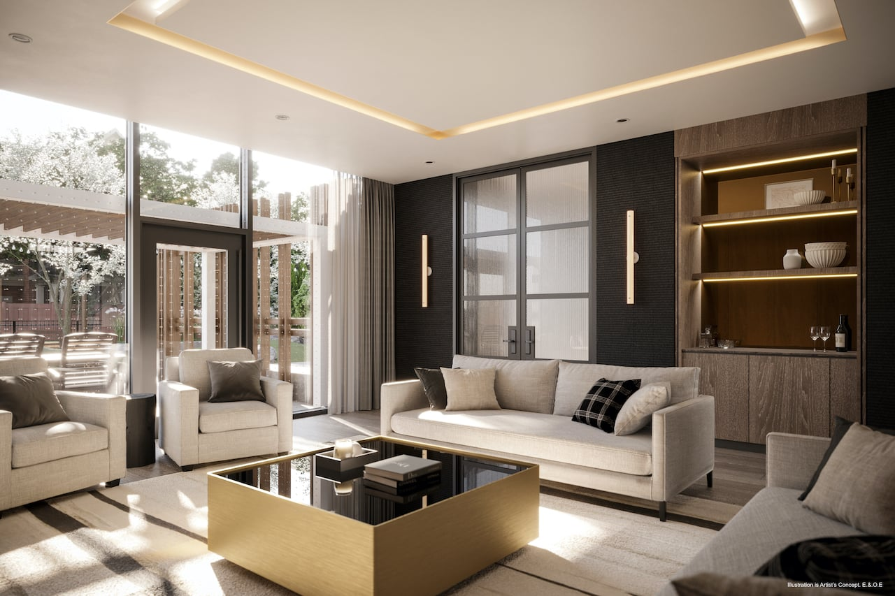 Rendering of Boulevard at the Thornhill quiet room
