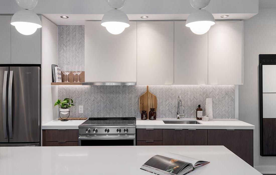 Hillmont at SXSW Model Suite kitchen close-up