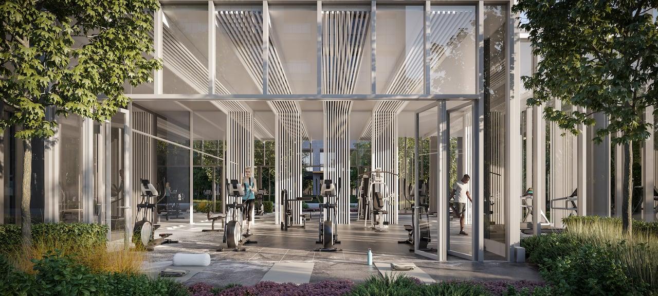 Rendering of 79825 Condos Interior Fitness centre