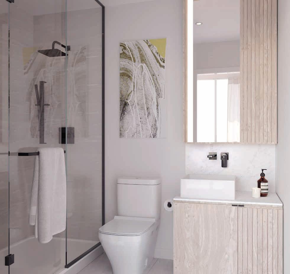Rendering of 79825 Condos Interior suite bathroom