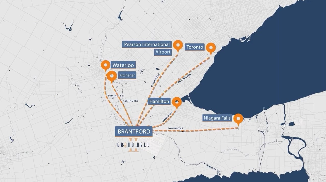 Grand Bell 2 travel distance