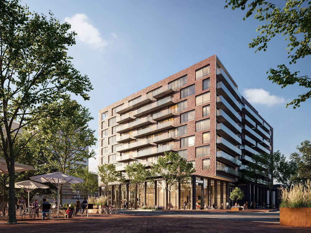 The Mason at Brightwater streetscape