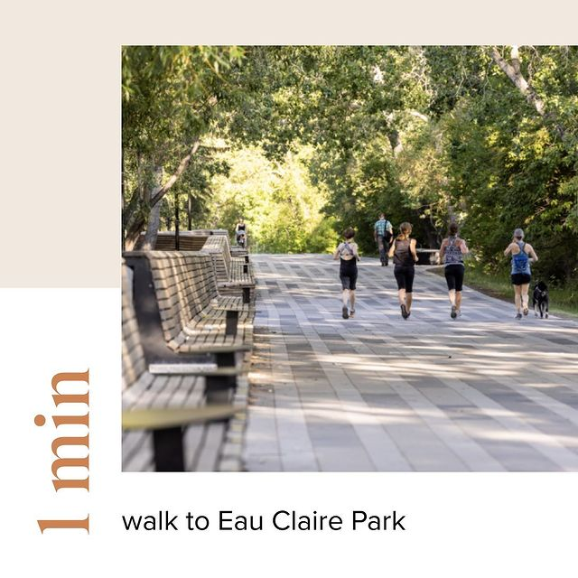First & Park is 1 min from Eau Claire Park
